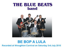 The Blue Beats Band Perform Be Bop A Lula by Gene Vincent