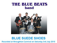 The Blue Beats Band Perform Blue Suede Shoes by Carl Perkins