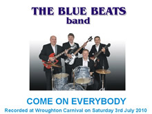 The Blue Beats Band Perform Come On Everybody by Eddie Cochran