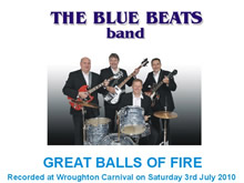 The Blue Beats Band Perform Great Balls Of Fire by Jerry Lee Lewis