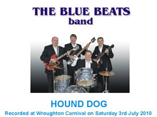 The Blue Beats Band Perform Hound Dog by Elvis Presley