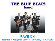 The Blue Beats Band Perform Rave On by Buddy Holly