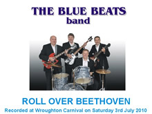 The Blue Beats Band Perform Roll Over Beethoven by Chuck Berry