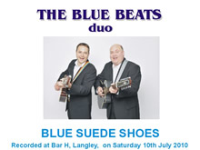 The Blue Beats Duo Perform Blue Suede Shoes by Carl Perkins