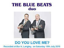 The Blue Beats Duo Perform Do You Love Me? by The Contours