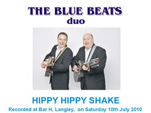 The Blue Beats Duo Perform Hippy Hippy Shake by The Swinging Blue