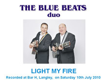 The Blue Beats Duo Perform Light My Fire by The Doors