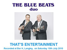 The Blue Beats Duo Perform That's Entertainment by The Jam